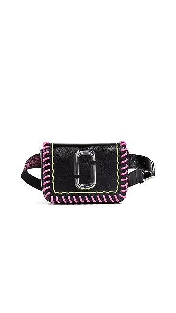Marc Jacobs S/M Hip Shot Whipstitch Convertible Belt Bag