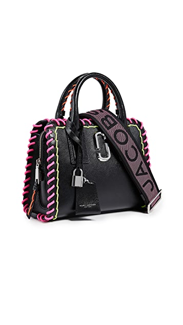 Marc Jacobs Little Big Shot Whipstitches Satchel