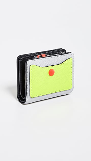 Marc Jacobs The Grind Mini Compact Wallet