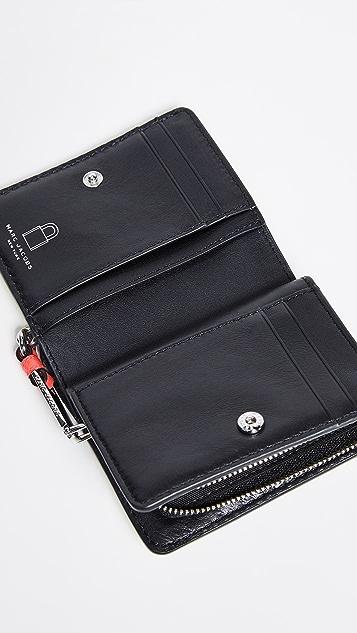 Marc Jacobs Миниатюрный компактный кошелек Grind