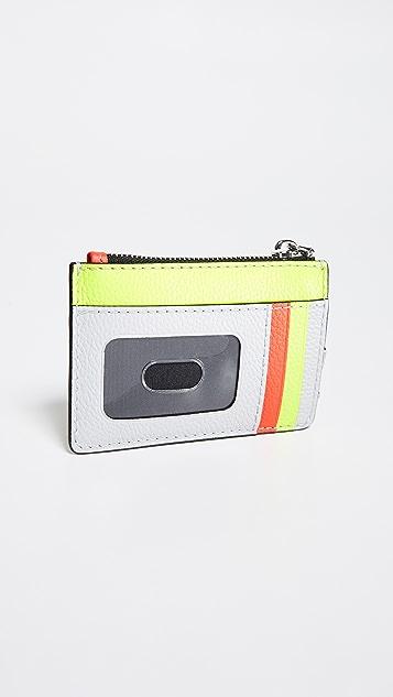 Marc Jacobs Разноцветный кошелек Grind на молнии сверху