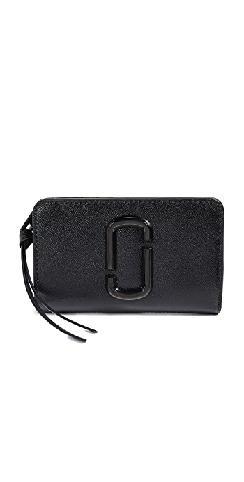 The Marc Jacobs Snapshot Compact Wallet - Black