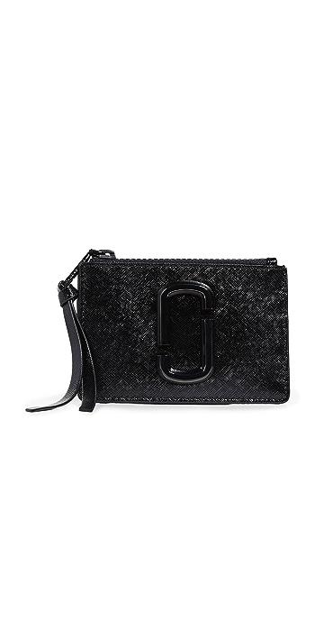 The Marc Jacobs Snapshot Top Zip Multi Wallet - Black