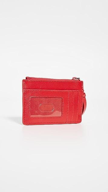 The Marc Jacobs Snapshot 顶部拉链多色钱包