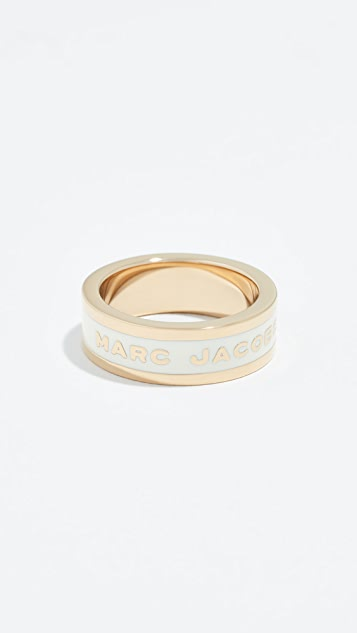The Marc Jacobs Logo Band Ring