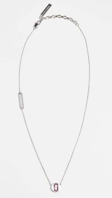Marc Jacobs Logo Necklace