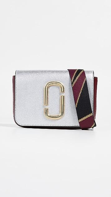 Marc Jacobs M / L Hip Shot Convertible Belt Bag - Silver