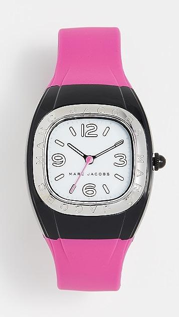 Marc Jacobs New Platform Watch, 36mm - Pink