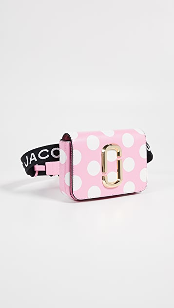 Marc Jacobs Поясная сумка XS/S The Dot Hip Shot