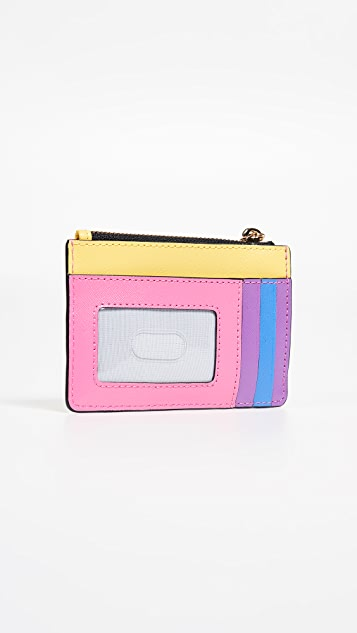 Marc Jacobs Snapshot Top Zip Multi Wallet