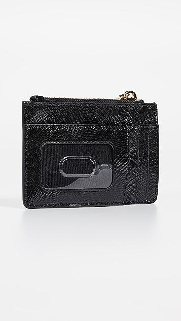 Marc Jacobs Snapshopt Top Zip Multi Wallet