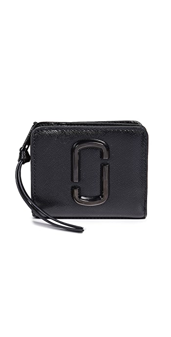 The Marc Jacobs Snapshot Mini Compact Wallet - Black