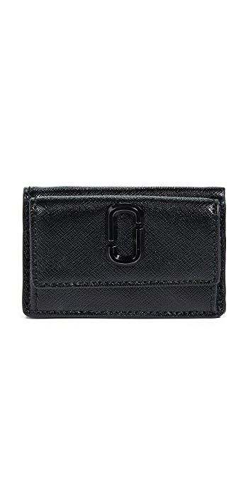 The Marc Jacobs Snapshot Mini Trifold Wallet - Black