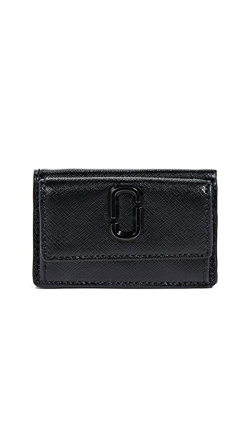 The Marc Jacobs Snapshot Mini Trifold Wallet