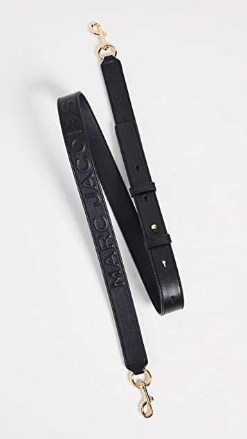 Marc Jacobs MJ EmbossedLeather Strap