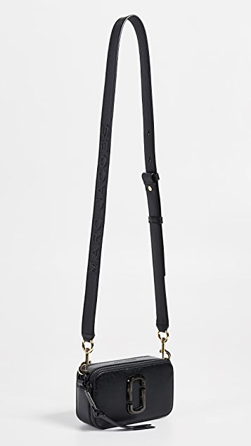 The Marc Jacobs MJ EmbossedLeather Strap