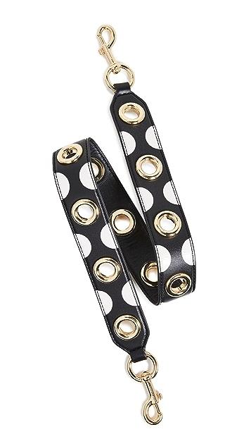 The Marc Jacobs Polka Dot Shoulder Strap