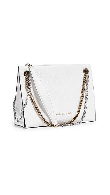 Marc Jacobs Объемная сумка с короткими ручками из двух звеньев 27