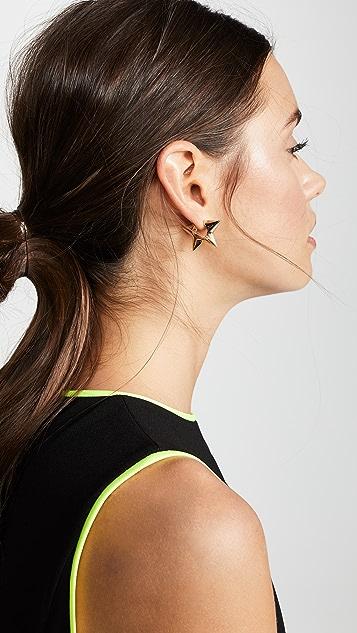 Marc Jacobs Star Huggie Hoop Earrings