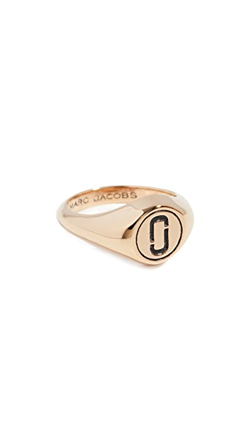 Marc Jacobs Double J Signet Ring