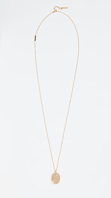 Marc Jacobs Цепочка с кулоном-лабиринтом Double J
