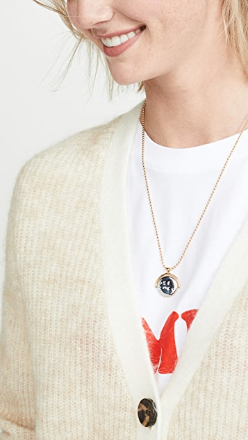 Marc Jacobs Good Luck  Pendant Necklace