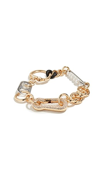 The Marc Jacobs Mixed Hardware Bracelet