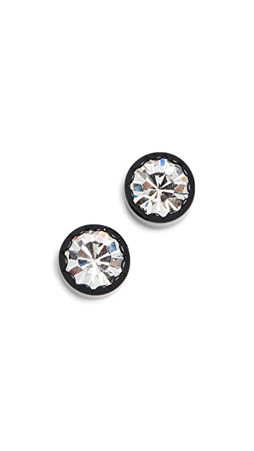 The Marc Jacobs Scalloped Stud Earrings