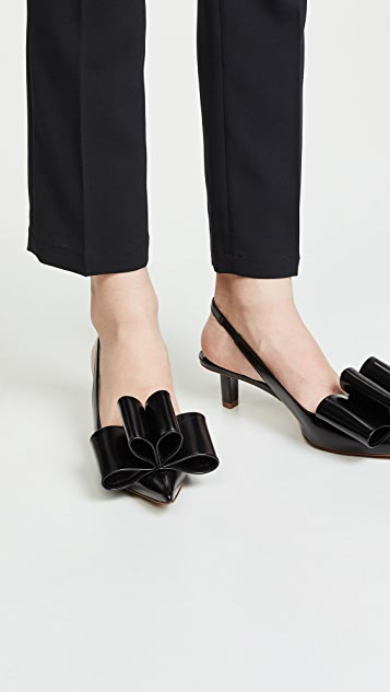 The Marc Jacobs Bow Slingback Pumps