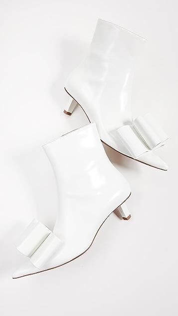 Marc Jacobs Ботинки до щиколоток с бантом