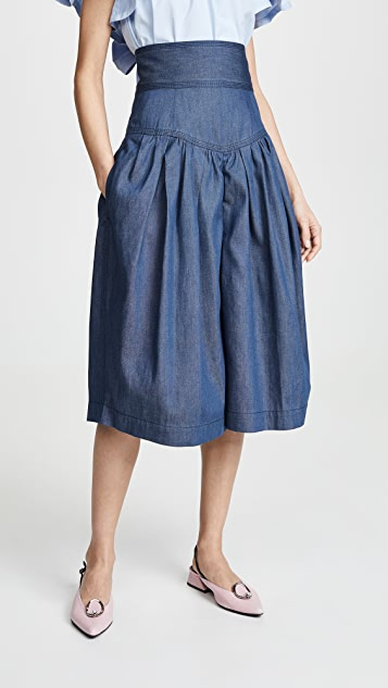 Marc Jacobs High Waist Culotte Shorts