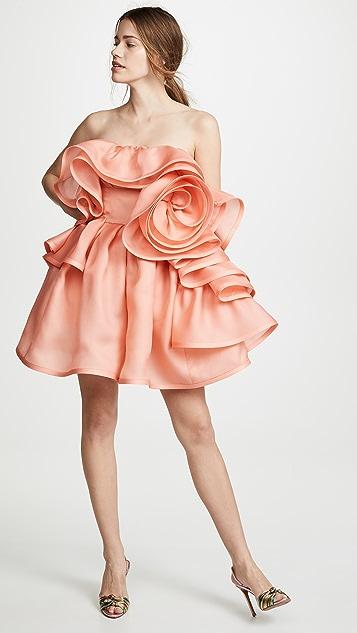 Marc Jacobs Платье с оборками по всей поверхности