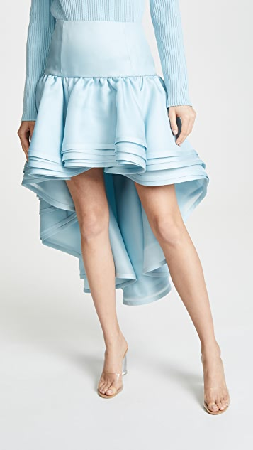 Marc Jacobs Layered High Low Skirt