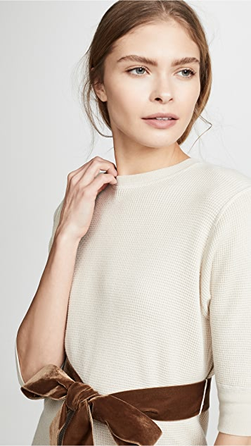 Marc Jacobs Short Sleeve Crew Neck Sweater