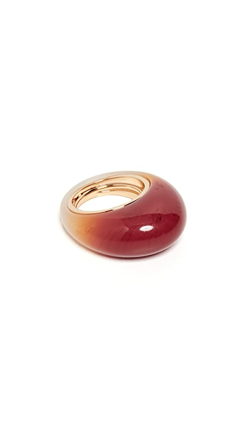 Marc Jacobs Dome Resin Jelly Ring