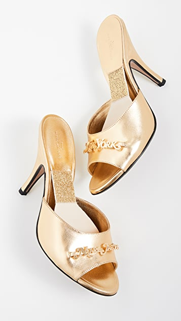 Marc Jacobs The MJ New York Mules
