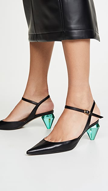 The Marc Jacobs The Diamond Heel Slingback