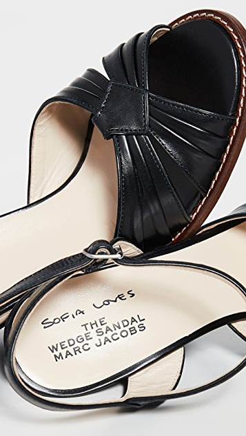 The Marc Jacobs Sofia Loves: The Wedge Sandals