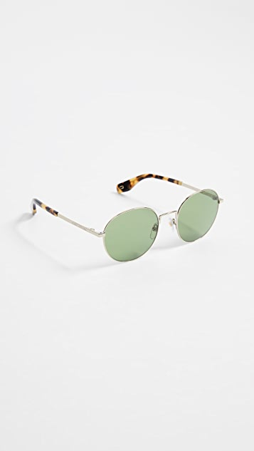 The Marc Jacobs Classic Round Sunglasses