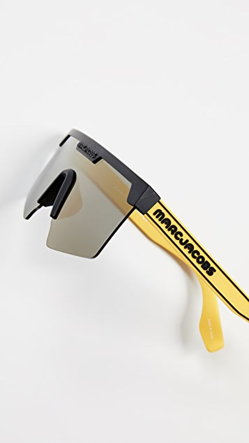 The Marc Jacobs Sporty Shield Sunglasses