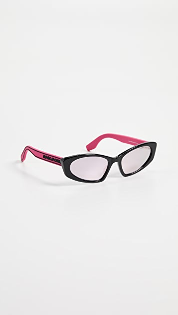 The Marc Jacobs Sporty Narrow Sunglasses