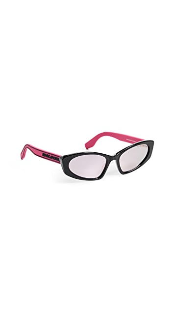 Marc Jacobs Sporty Narrow Sunglasses