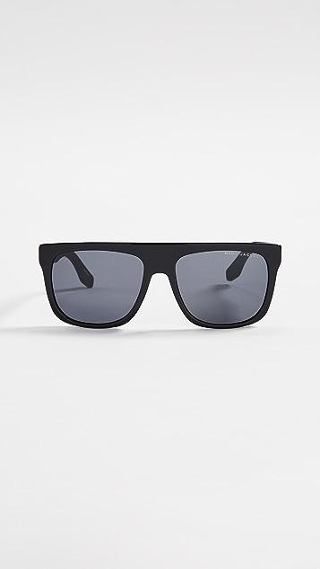 The Marc Jacobs Sport Flat Top Sunglasses