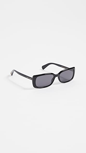 Marc Jacobs Narrow Rectangular Sunglasses