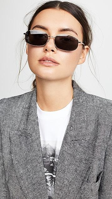 Marc Jacobs Metal Rectangular Sunglasses