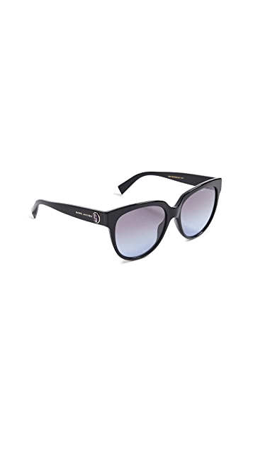The Marc Jacobs Classic Round Acetate Sunglasses