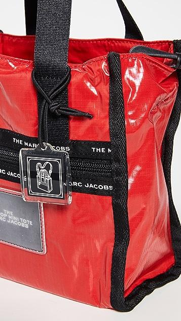 Marc Jacobs 厚织尼龙布料迷你托特包