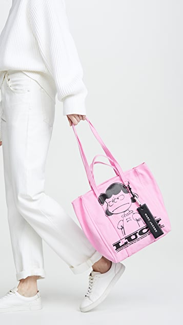 The Marc Jacobs x Peanuts The Tag Tote 27