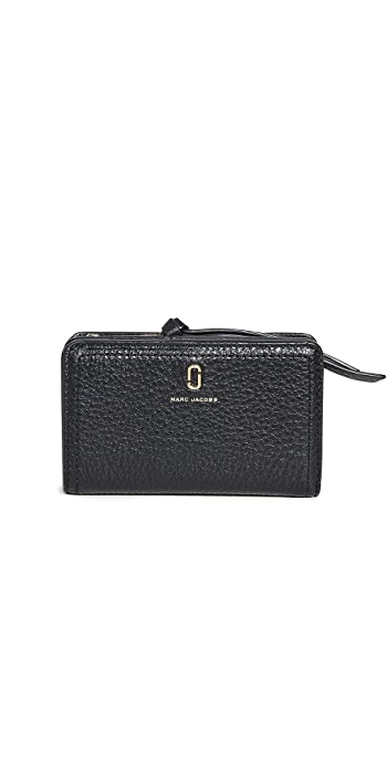 The Marc Jacobs Compact Wallet - Black