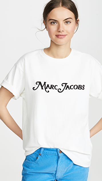The Marc Jacobs 徽标 T 恤